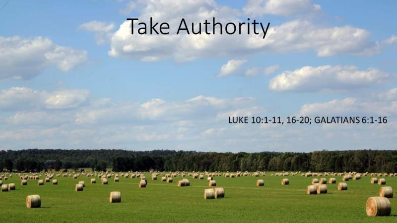 Take Authority